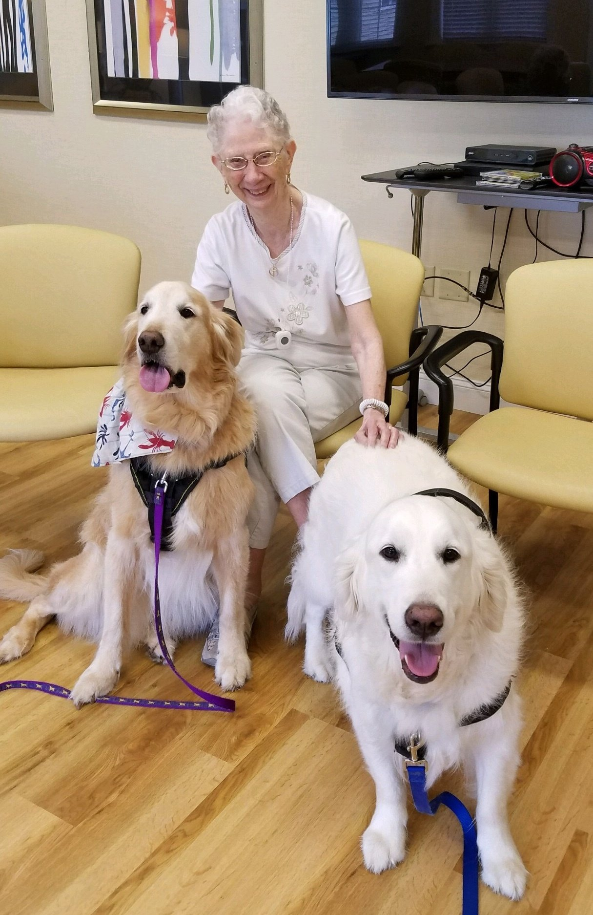 Furry Friends Visit Residents
