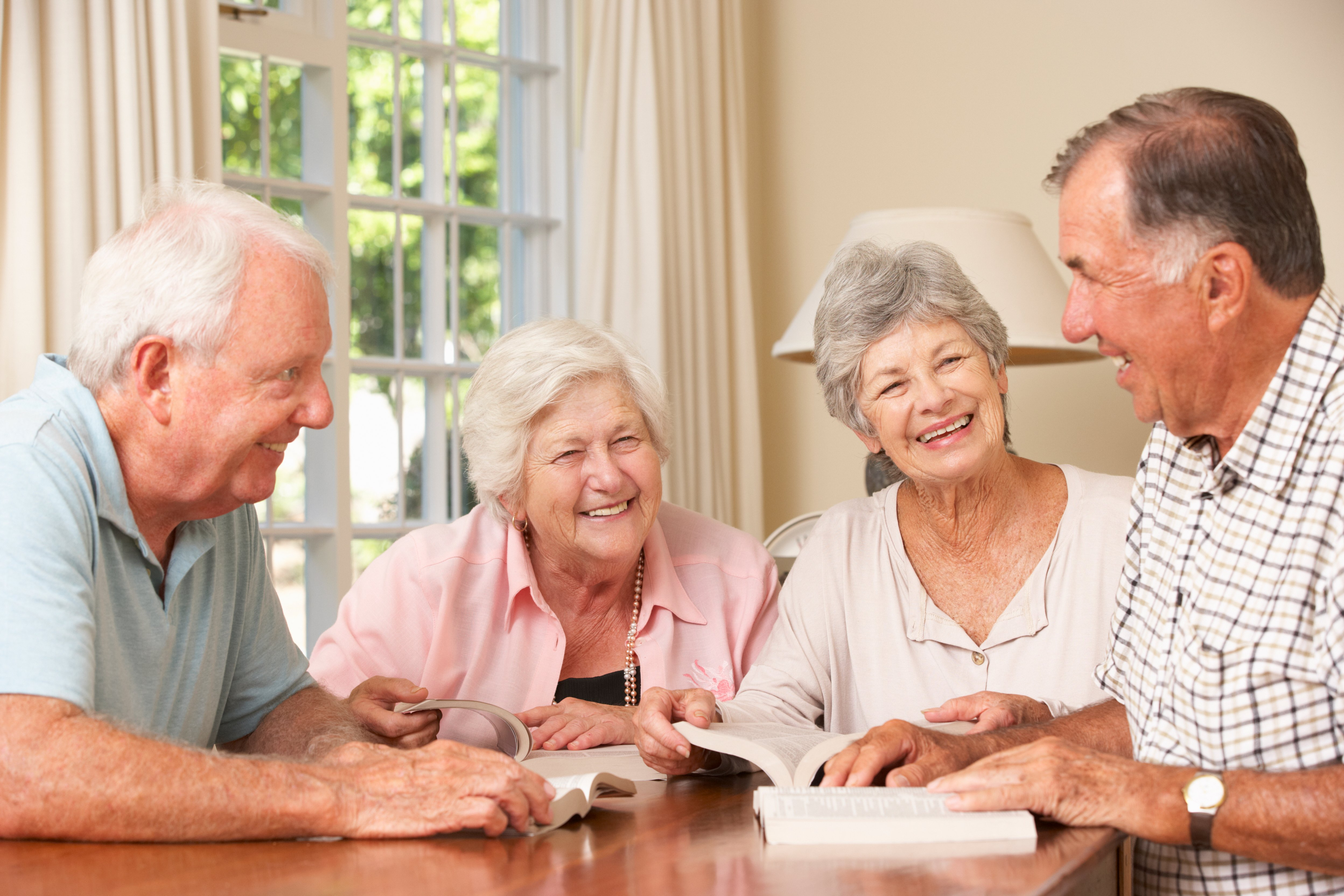 Older Readers, You're Never Too Old to Join a Book Club