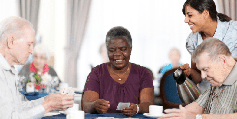 The Benefits of Socialization for People with Dementia